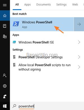 Cómo eliminar completamente las aplicaciones integradas de Windows 10.