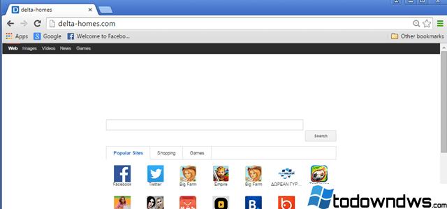 Remove delta-homes.com Browser Hijacker (Guía de Remoción)