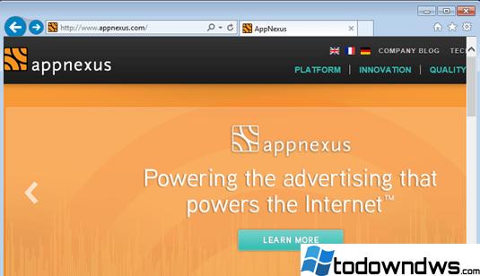 Eliminar los anuncios emergentes de Ib.Adnxs (Guía de eliminación)