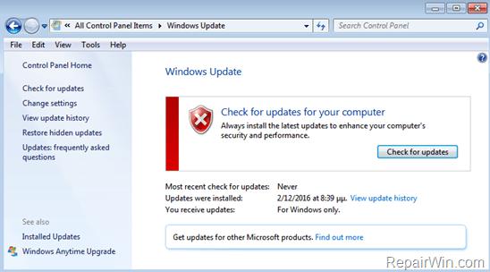 [CÓMO] Deshabilitar las actualizaciones de Windows en Windows 10, 8, 7 o Vista
