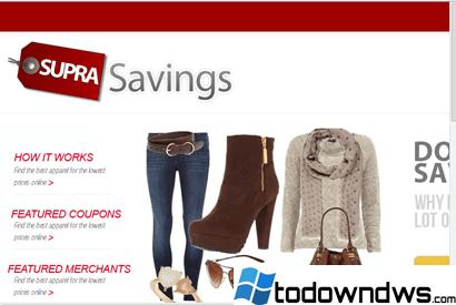 Eliminar los anuncios de ahorro de Supra (Guía de eliminación)