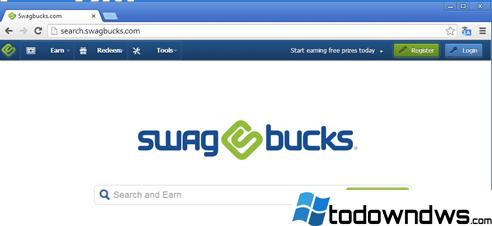 Eliminar el secuestrador del navegador Search.SwagBucks.com (Guía de eliminación)