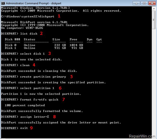 DiskPart ha encontrado un error: El parámetro es incorrecto (Resuelto)