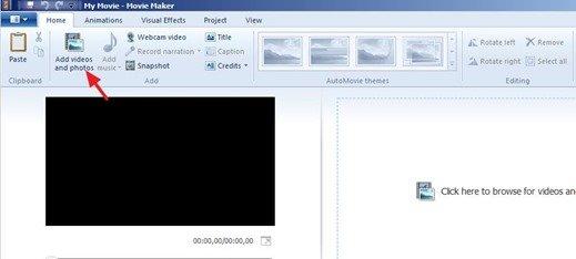 Video Rotar y Guardar - La forma más fácil (Windows Movie Maker)