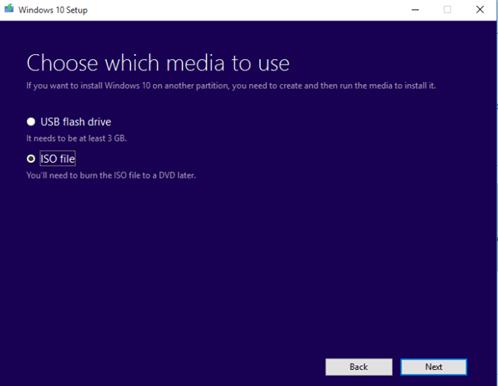 Cómo descargar y crear un DVD de instalación de Windows 10.