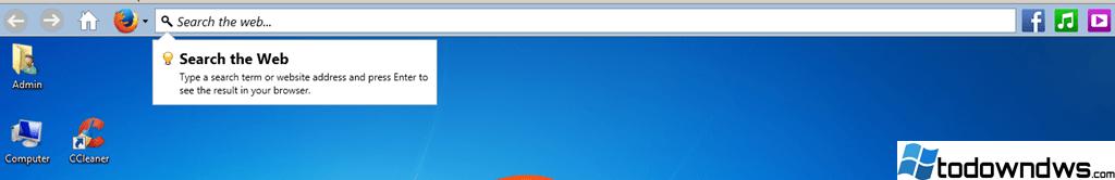 Eliminar el virus de la barra de la web - Programa potencialmente no deseado