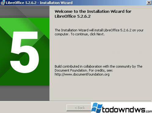Cómo descargar e instalar LibreOffice en Windows
