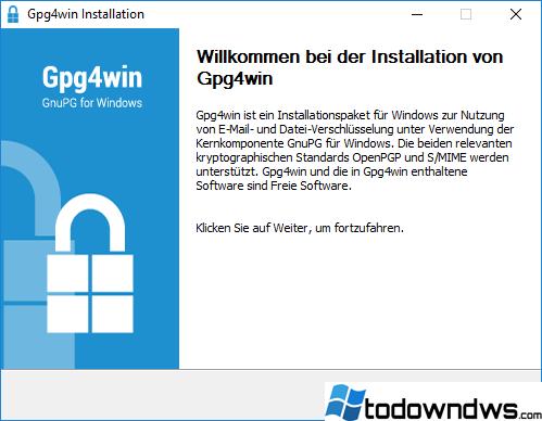 Cifrado de correo OpenPGP y herramientas relacionadas para Linux, Windows