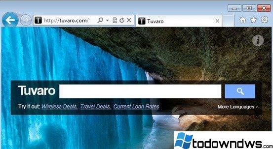 Eliminar la configuración de búsqueda de Tuvaro y la barra de herramientas de Tuvaro (Guía de Eliminación)